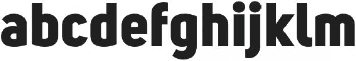 Uni Sans Heavy ttf (800) Font LOWERCASE