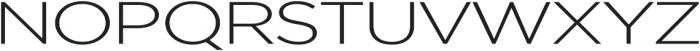 Uniclo otf (300) Font UPPERCASE