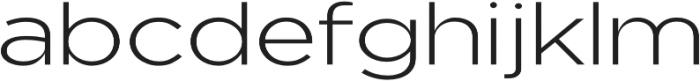 Uniclo otf (300) Font LOWERCASE