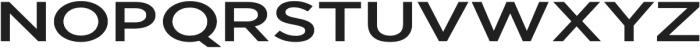 Uniclo otf (500) Font UPPERCASE