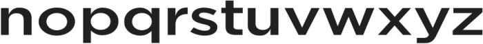 Uniclo otf (500) Font LOWERCASE