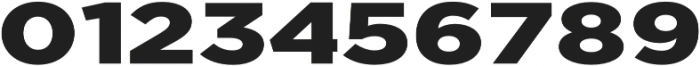 Uniclo otf (900) Font OTHER CHARS