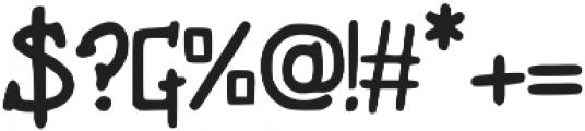 Unicorg Comedy ttf (700) Font OTHER CHARS