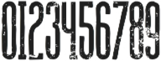 Union grunge otf (400) Font OTHER CHARS