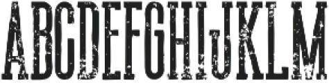 Union grunge otf (400) Font UPPERCASE