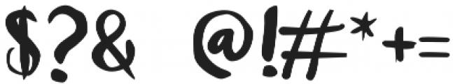 Unique Regular otf (400) Font OTHER CHARS