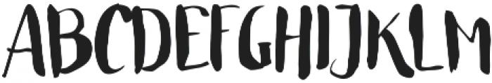 Unique Regular otf (400) Font UPPERCASE