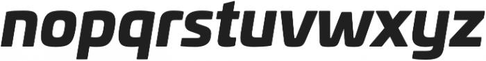 Univia Pro Black Italic otf (900) Font LOWERCASE