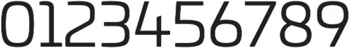 Univia Pro Book otf (400) Font OTHER CHARS