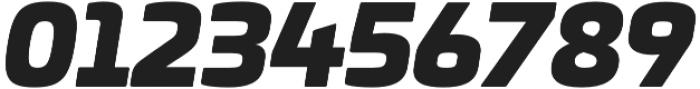 Univia Pro Ultra Italic otf (900) Font OTHER CHARS