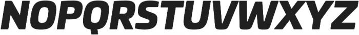 Univia Pro Ultra Italic otf (900) Font UPPERCASE