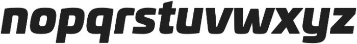 Univia Pro Ultra Italic otf (900) Font LOWERCASE