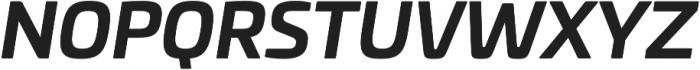 Univia Pro otf (700) Font UPPERCASE