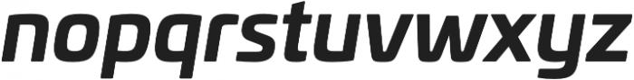 Univia Pro otf (700) Font LOWERCASE