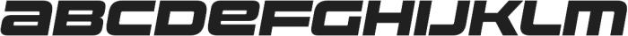 Uniwars Heavy Italic otf (800) Font UPPERCASE