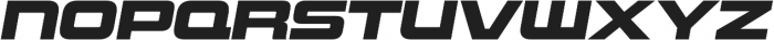 Uniwars Heavy Italic otf (800) Font LOWERCASE
