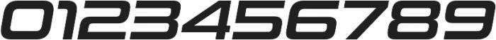 Uniwars SemiBold Italic otf (600) Font OTHER CHARS