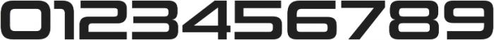 Uniwars SemiBold otf (600) Font OTHER CHARS
