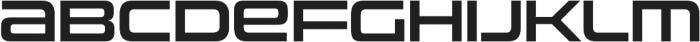 Uniwars SemiBold otf (600) Font LOWERCASE