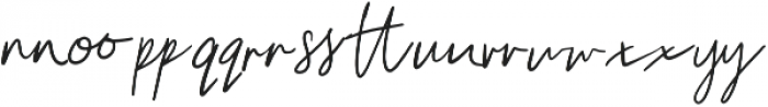 Unleash Handwritten Ligatures otf (400) Font UPPERCASE