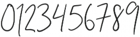Unleash Handwritten otf (400) Font OTHER CHARS