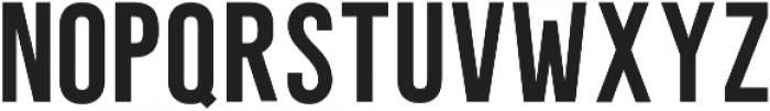 Unleash San Serif otf (400) Font UPPERCASE