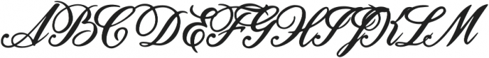 Unlocking Your Dreams otf (400) Font UPPERCASE