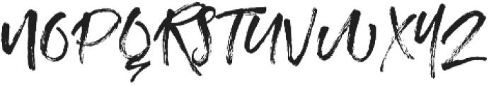 Unsatisfied Script Font otf (400) Font UPPERCASE