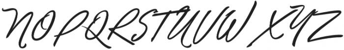 Unthrift Second otf (400) Font UPPERCASE