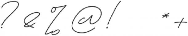 unforgiven otf (400) Font OTHER CHARS