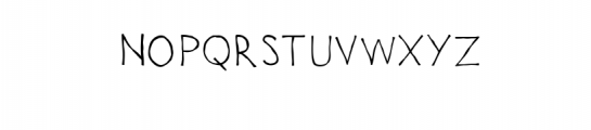 Uncouth Rebellious Handrawn Font Font UPPERCASE