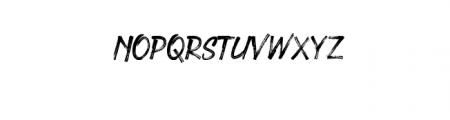 Under Rock Font UPPERCASE