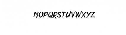 Under Rock Font LOWERCASE