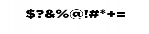 Uniclo-Black.otf Font OTHER CHARS