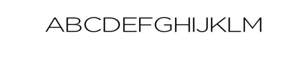 Uniclo-Light.otf Font UPPERCASE