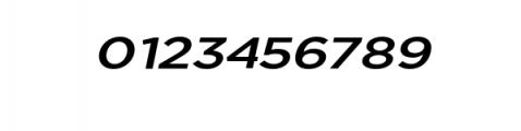 Uniclo-MediumItalic.otf Font OTHER CHARS