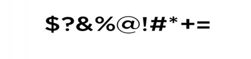 Uniclo-Medium.otf Font OTHER CHARS