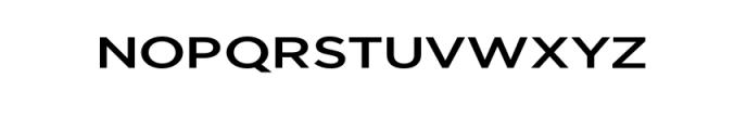 Uniclo-Medium.otf Font UPPERCASE