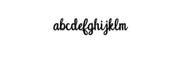 Unquestionify.otf Font LOWERCASE