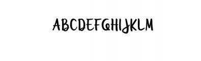 Unquestionify.ttf Font UPPERCASE