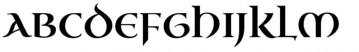 Uncial Antiqua Pro Font UPPERCASE