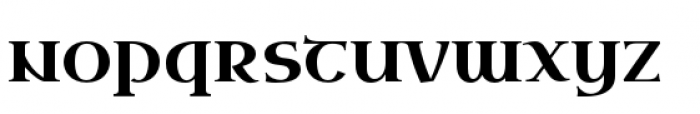 Uncial Antiqua Pro Font LOWERCASE