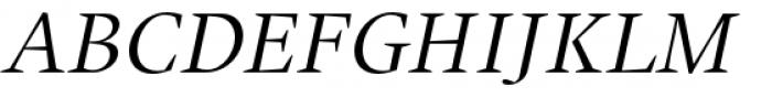 Union Italic Font UPPERCASE