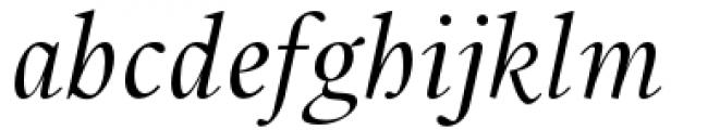 Union Italic Font LOWERCASE