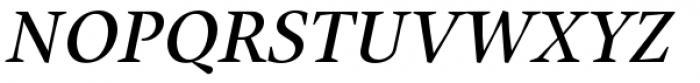 Union Medium Italic Font UPPERCASE