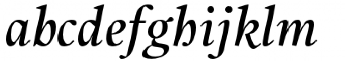 Union Medium Italic Font LOWERCASE