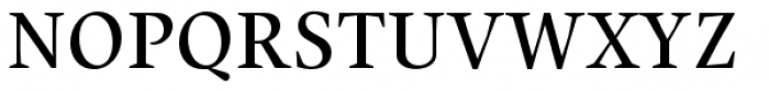 Union Medium Small Caps Font UPPERCASE