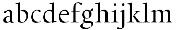 Union Regular Font LOWERCASE