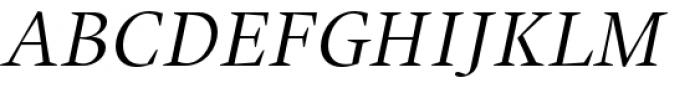 Union Small Caps Italic Font UPPERCASE