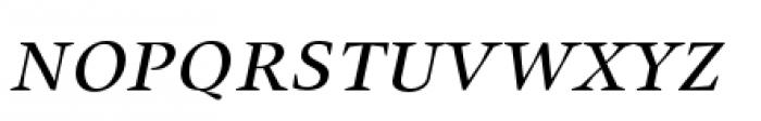 Union Small Caps Italic Font LOWERCASE